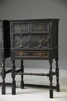 Pair of Jacobean Style Oak Cabinets (3 of 13)