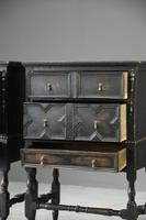 Pair of Jacobean Style Oak Cabinets (8 of 13)