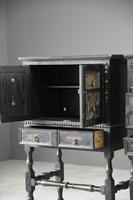 Pair of Jacobean Style Oak Cabinets (9 of 13)