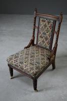 Antique Walnut Nursing Chair (6 of 11)
