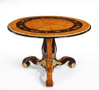 Exceptional 19th Century Marquetry Centre Table attributed to Edward Holmes Baldock (2 of 16)