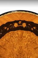 Exceptional 19th Century Marquetry Centre Table attributed to Edward Holmes Baldock (10 of 16)