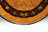 Exceptional 19th Century Marquetry Centre Table attributed to Edward Holmes Baldock (9 of 16)