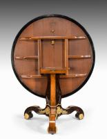 Exceptional 19th Century Marquetry Centre Table attributed to Edward Holmes Baldock (6 of 16)