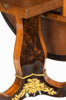 Exceptional 19th Century Marquetry Centre Table attributed to Edward Holmes Baldock (4 of 16)