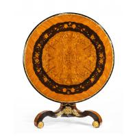 Exceptional 19th Century Marquetry Centre Table attributed to Edward Holmes Baldock (3 of 16)