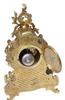 19th Century French Gilt Metal Clock Garniture (4 of 5)