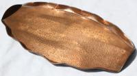 Art Deco Copper Tray Signed with Initials (3 of 4)