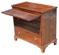 George III Small Mahogany Chest (4 of 7)