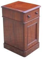 Superb Pair of Victorian Mahogany Bedside Cabinets (5 of 9)
