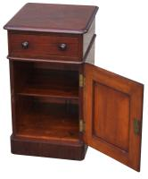 Superb Pair of Victorian Mahogany Bedside Cabinets (8 of 9)