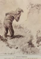 Humorous Golfing Print 'Follow Through' (2 of 2)