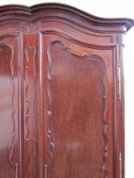Lovely Quality Large French Early 19th Century Mahogany Armoire (7 of 7)