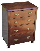 Lovely Quality Victorian Small Mahogany Chest of Drawers (2 of 7)