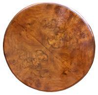 A Lovely Quality Circular Walnut Art Deco Coffee Table (5 of 6)