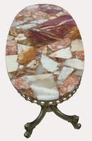 A Good Quality Marble and Onyx Coffee Table (2 of 3)