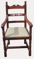 A Lovely Set of Eight Victorian Farhouse Oak Dining Chairs (6 of 7)