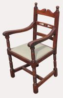 A Lovely Set of Eight Victorian Farhouse Oak Dining Chairs (4 of 7)