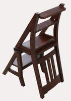 A Set of Lovely 20th Century Mahogany Chair / Library Steps (4 of 7)