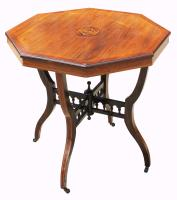 Victorian Octagonal Rosewood Table (5 of 5)