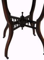 Victorian Octagonal Rosewood Table (4 of 5)