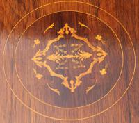 Victorian Octagonal Rosewood Table (2 of 5)