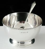 Cased Silver Bowl & Spoon, Turner & Simpson Ltd, Birmingham 1957