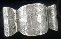 Unusual Cased Silver Napkin Ring, Wakely & Wheeler, London 1915