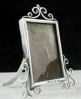 Art Nouveau Silver Photograph Frame, Lawrence Emanuel Birmingham 1896