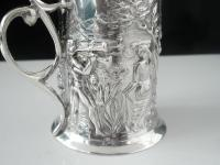 Art Nouveau Silver Sugar Castor, Birmingham 1902, T H Hazlewood & Co (9 of 12)