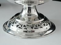 Pair of Silver Openwork Pedestal Dishes, Emile Viner, Sheffield 1933 (4 of 12)
