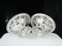 Pair of Silver Openwork Pedestal Dishes, Emile Viner, Sheffield 1933 (7 of 12)