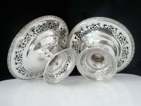 Pair of Silver Openwork Pedestal Dishes, Emile Viner, Sheffield 1933 (8 of 12)