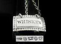 Antique Silver Whiskey Decanter Label, Newcastle 1829, Thomas Wheatley (7 of 7)