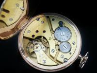 9ct Gold Tissot Open Face Pocket Watch From 1934 (8 of 12)