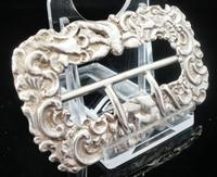 Silver Buckle, Rosenthal, Jacob & Co c.1885