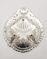 Beautiful Victorian Silver Plated Embossed Serving Dish c.1890 (3 of 5)