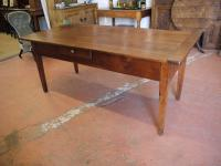 19th Century French Cherry Preparation Table