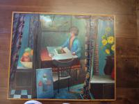 ''Dream No 2' Trypich, Oil On Board by Douglas Edward Taylor (1928 -2018))