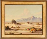 Ralph Arthur Lytle - Signed Oil, Spring in the Desert