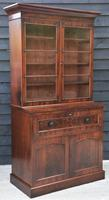 Excellent Quality William IV Mahogany Secretaire Bookcase/ Display Cabinet / Desk c.1830-1837