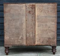 Fine Quality, Georgian Mahogany Bow-Fronted Chest of Drawers c.1825 (20 of 20)