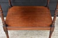 Fine Quality 19th Century Georgian Mahogany Three Tier Whatnot / Display Stand / Shelves (8 of 11)