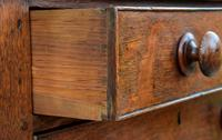 Exceptional & Unusual Small Proportioned Georgian Oak Chest with Press Top c.1820 (3 of 9)