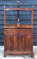 Exceptional & Unusual Small Proportioned Georgian Oak Chest with Press Top c.1820 (6 of 9)
