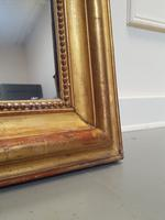 Antique French Artist Palette Gilded Mirror c.1870 (4 of 5)