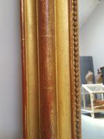 Antique French Artist Palette Gilded Mirror c.1870 (5 of 5)
