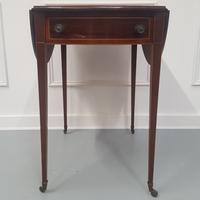 Antique English Pembroke Table c.1900 (7 of 7)