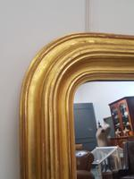 Beautiful Gilded French Mirror c.1850 (5 of 8)