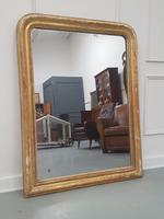 Antique Distressed French Mirror c.1880 (3 of 8)